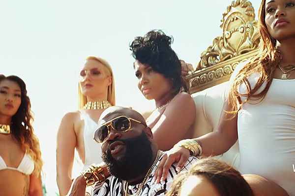 Hear Rick Ross Celebrate Affluent Friends on 'Same Hoes' news