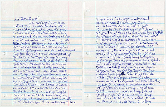 Tupac Shakur's Prison Bible on the Auction Block for $54,000 news