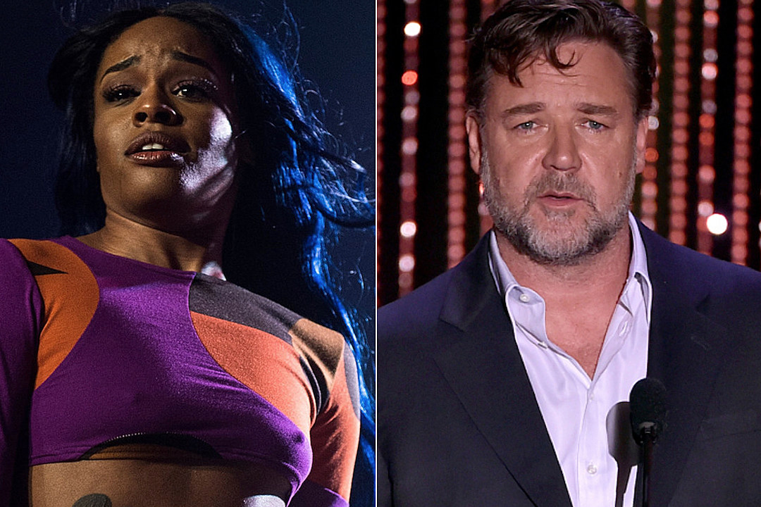 Azealia Banks Files Battery Report on Russell Crowe Following Assault news