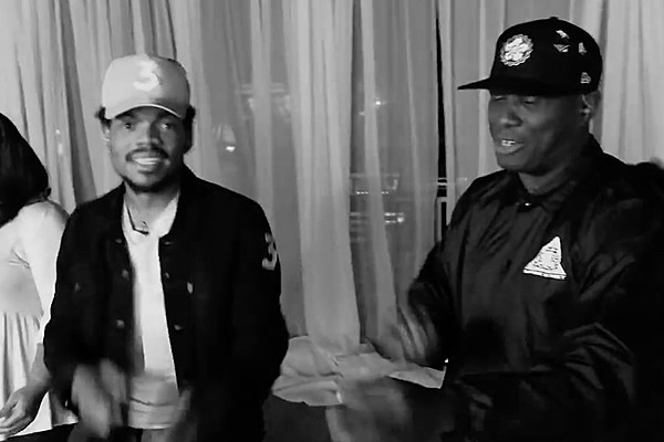 Celebrities Are Praising Chance the Rappers Coloring Book Like Crazy on Twitter news