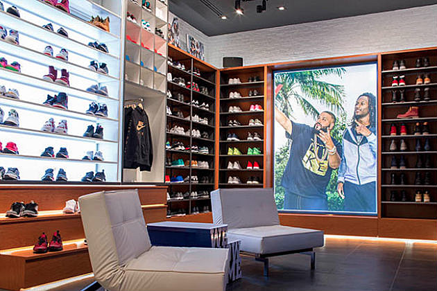 DJ Khaled Continues to Reign, Opens Champs Sports Store in Miami news