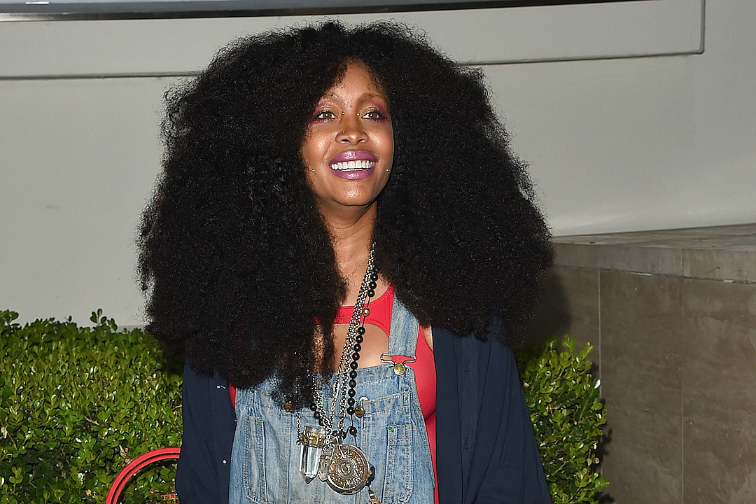 Erykah Badu Shows Off Her Belly in Awesome Video