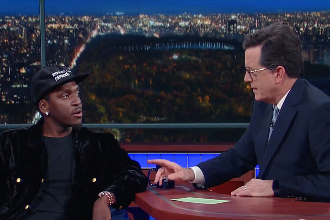 "Stephen Colbert Is Mad as Hell That Kanye West Left Him Out of His ""Famous"" Visual news"