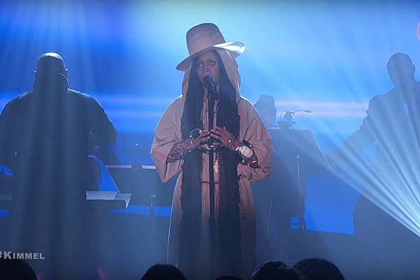 Watch Nas, Erykah Badu's Powerful 'This Bitter Land' on 'Kimmel' news