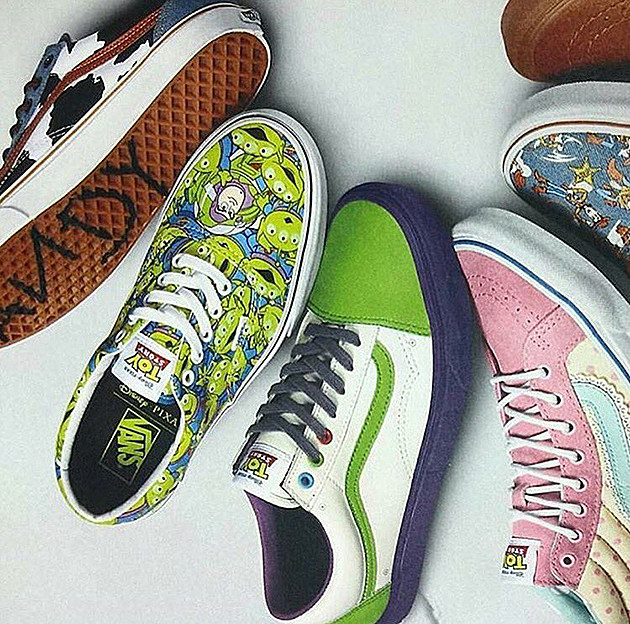 Vans x Toy Story Collection news