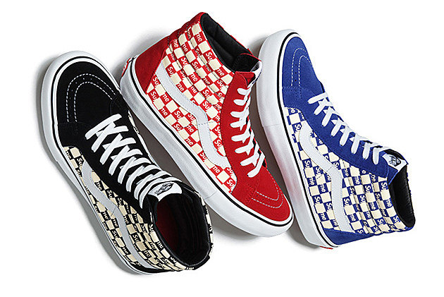 Supreme x Vans Checkerboard Pack news