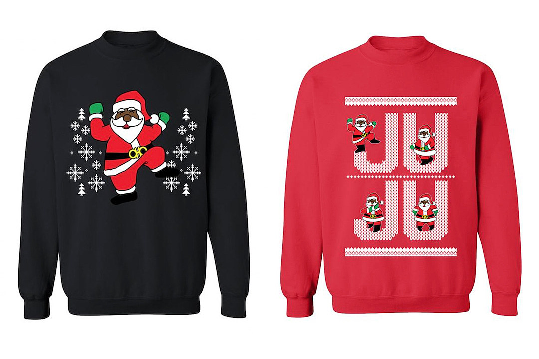 2 Chainz Launches New Line of 'Dabbin Santa' Ugly Christmas ...