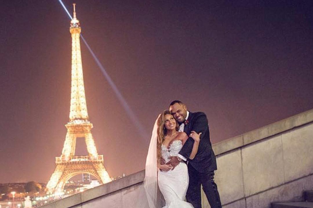 adrienne bailon marries israel houghton in paris 39 i feel