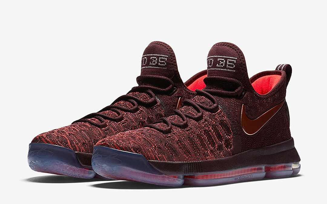 Maroon And Gold Basketball Shoes