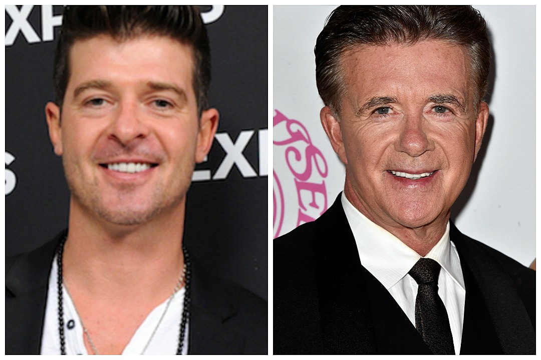 robin thicke and alan relationship