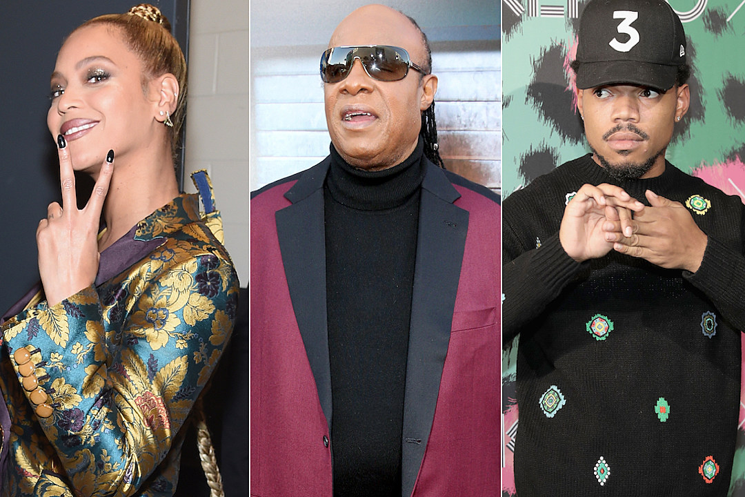 Beyonce Stevie Wonder Chance the Rapper