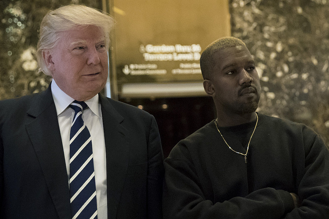 Kanye West Deletes Donald Trump Tweets