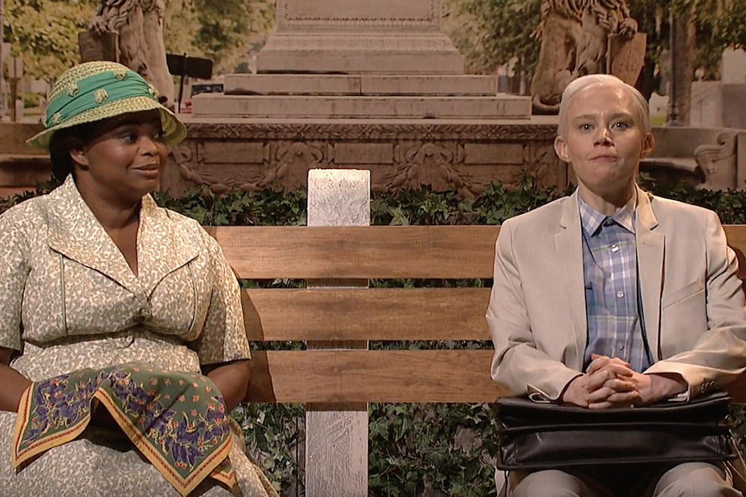 Octavia Spencer and Kate McKinnon Spoof Jeff Sessions in 'Forrest Gump'-Inspired Skit on 'SNL' [VIDEO]