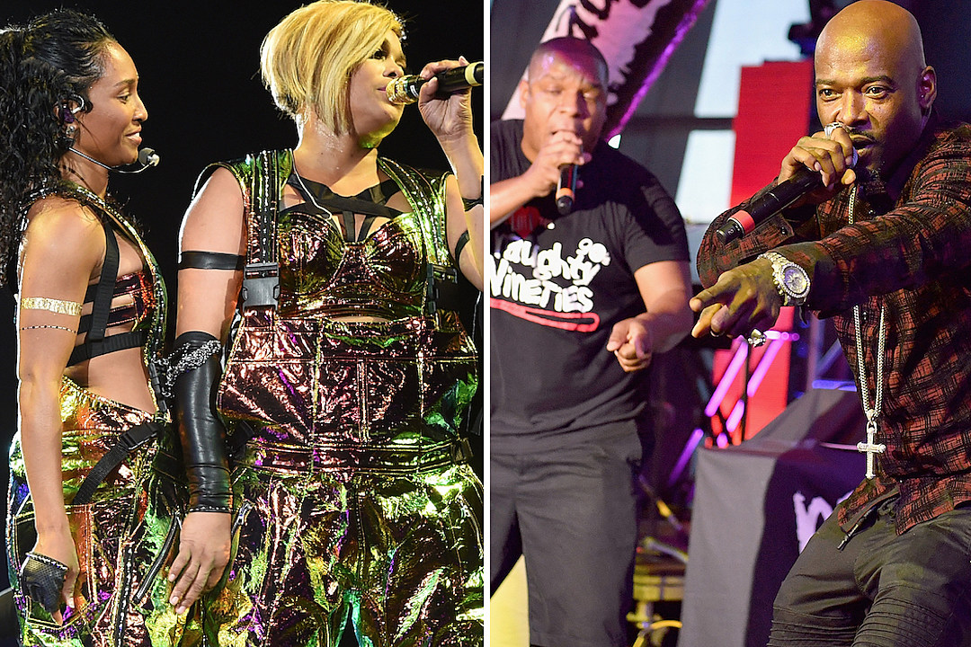 TLC Naughty By Nature I Love the 90s Tour