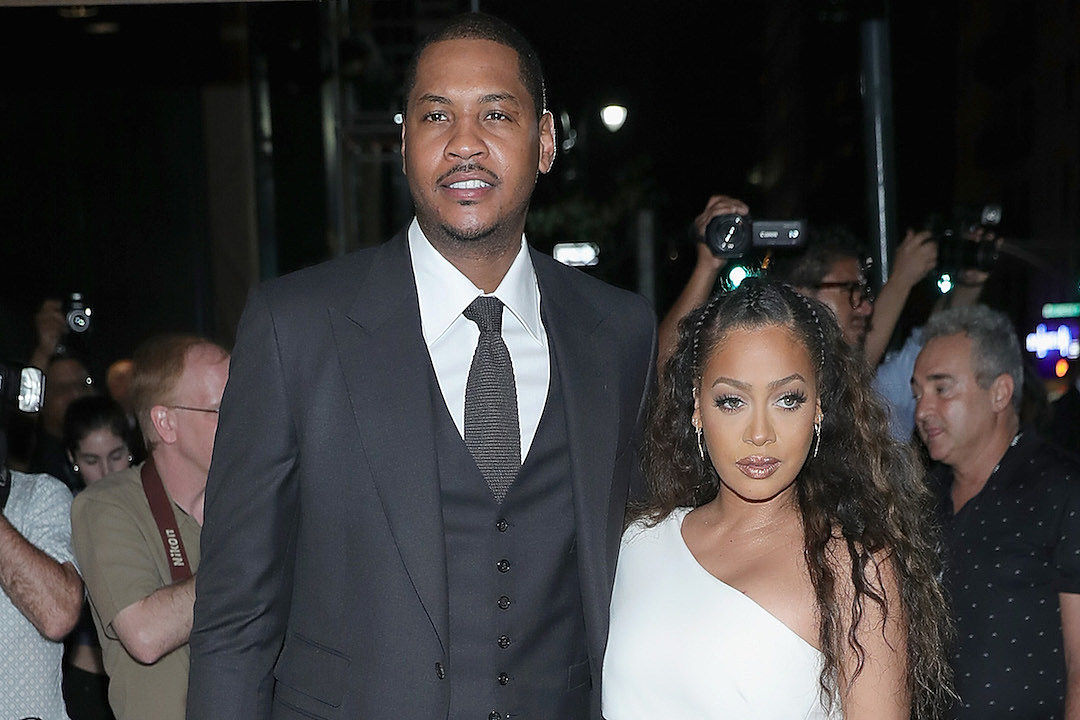 Carmelo Anthony La La Have Separated