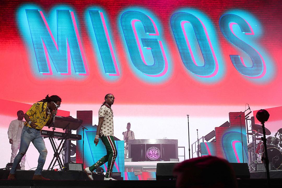 Migos Performs 2017 Coachella Music Festival