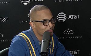 T.I. Confirms Split on Angie Martinez Show