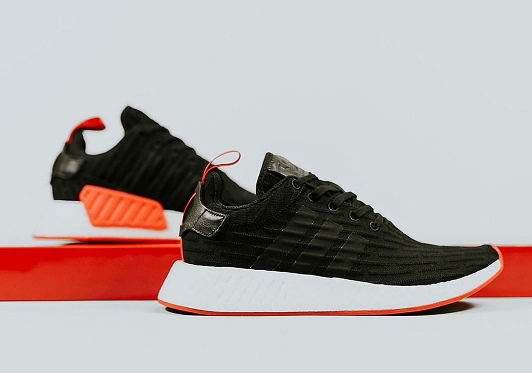 the best attitude 800f8 73af0 adidas nmd r2 orange