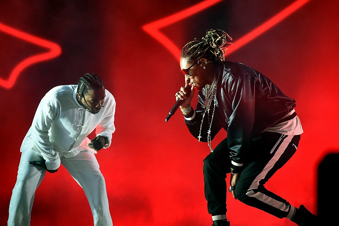 Kendrick Lamar Taunts The Rap Game on Future's 'Mask Off' Remix