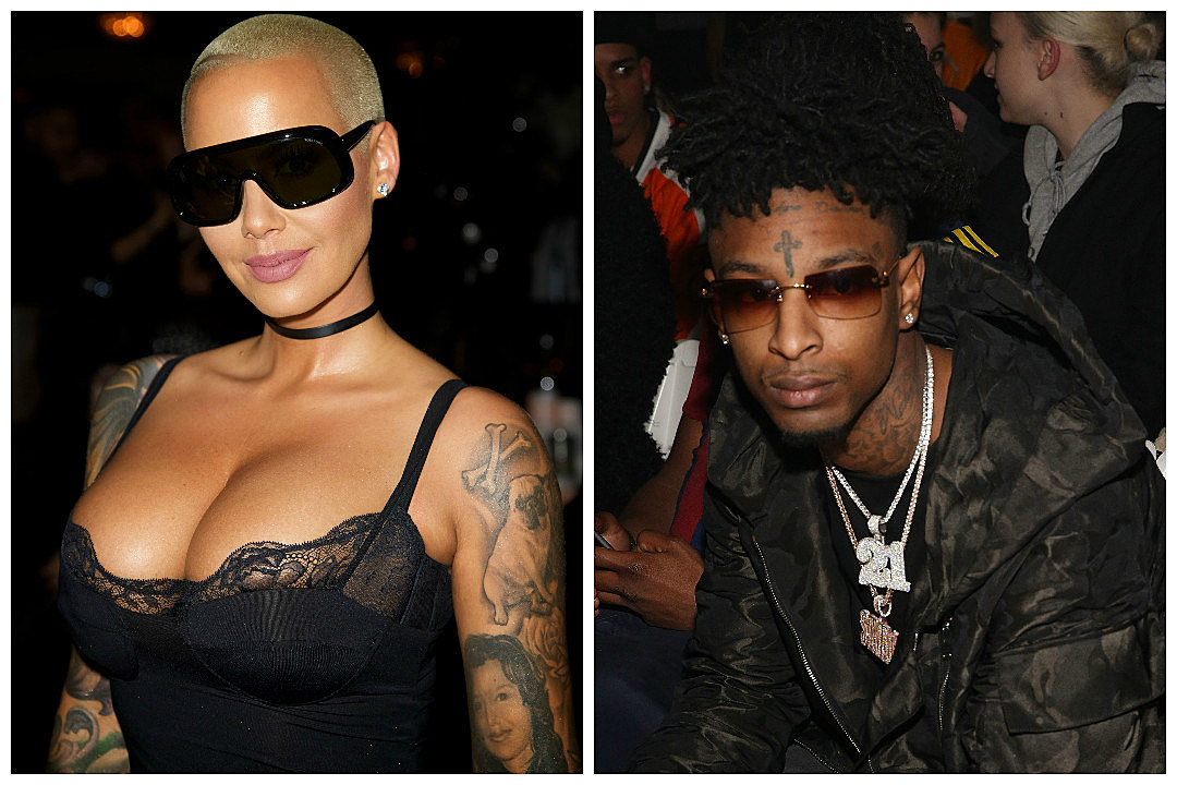 Amber Rose and 21 Savage Dating Rumors Continue to Swirl After Their Night Out