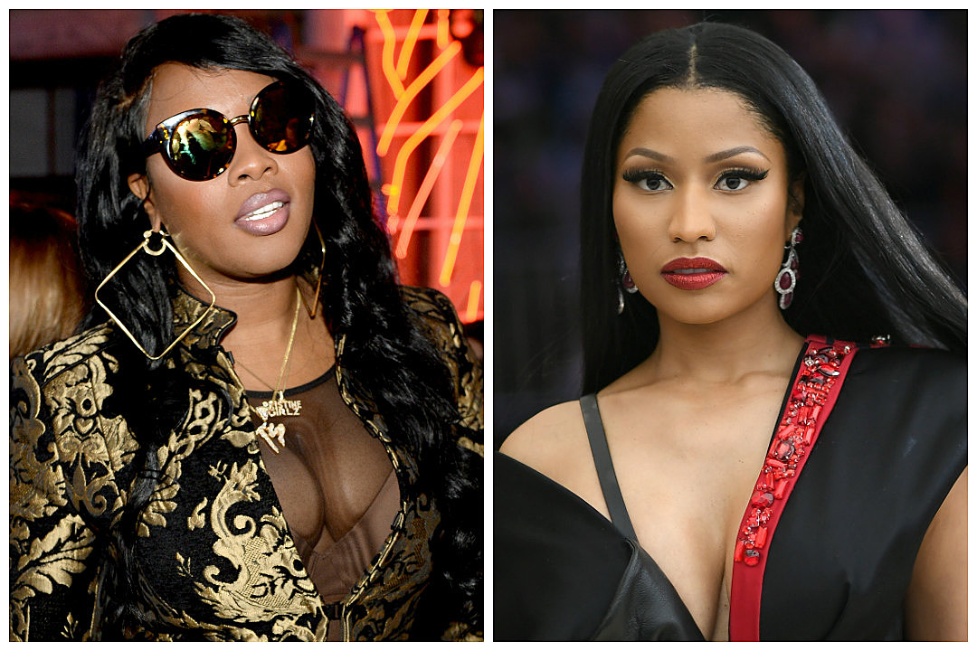 Watch Remy Ma Slam Nicki Minaj On Stage
