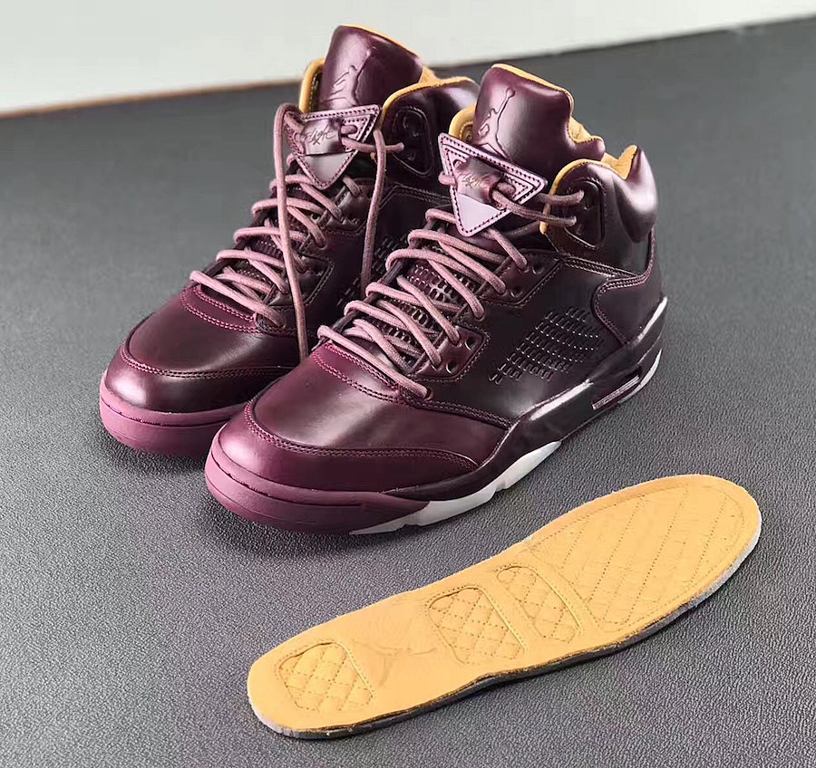 air jordan 5 premium wine glasses