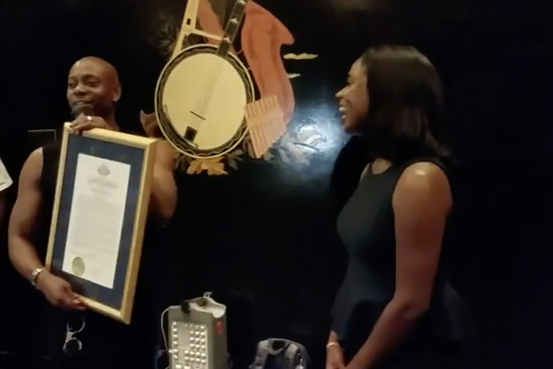 Dave Chappelle Honored in New York