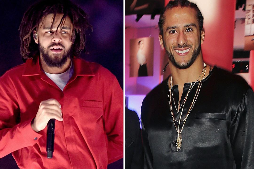 J. Cole Supports Colin Kaepernick