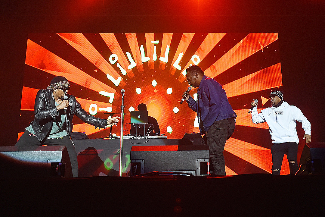 A Tribe Called Quest Perform Their