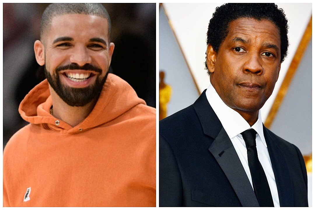 Drake's new tattoo is Denzel Washington's face