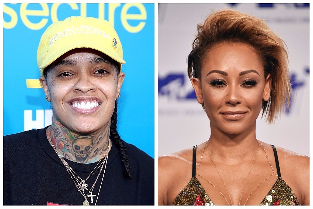 Siya Files Police Report Accusing Former Spice Girl Mel B  Threatening Her