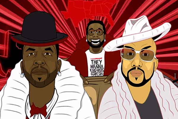 Big Boi Drops 'In the South' Video with Gucci Mane and Pimp C