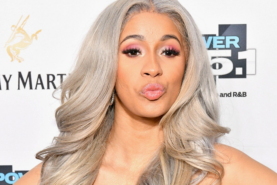 Cardi B Modeling: Cardi B Sued By Model For Using Image Of Him Going Down On