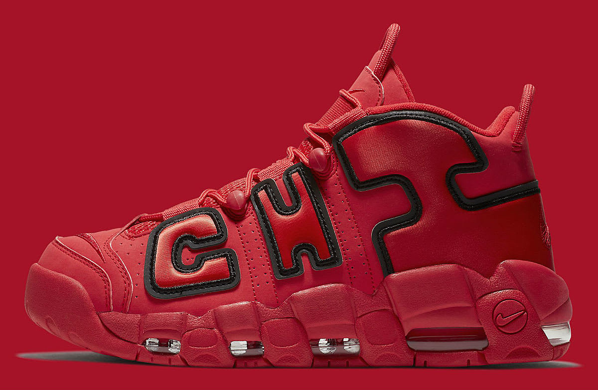 Nike Air More Uptempo Chicago