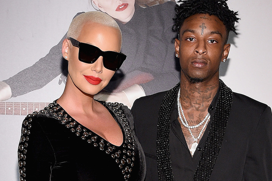 Amber Rose Confirms Split from 21 Savage: 'My Heart Is Still With Him' [ VIDEO]