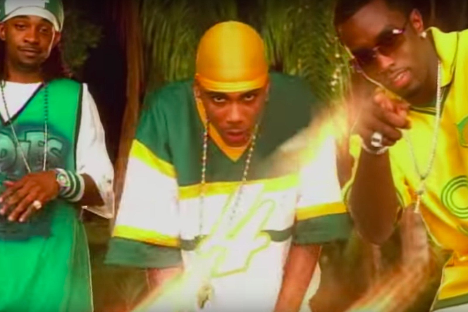 Diddy Nelly Murphy Lee Shake Ya Tailfeather Throwback Video