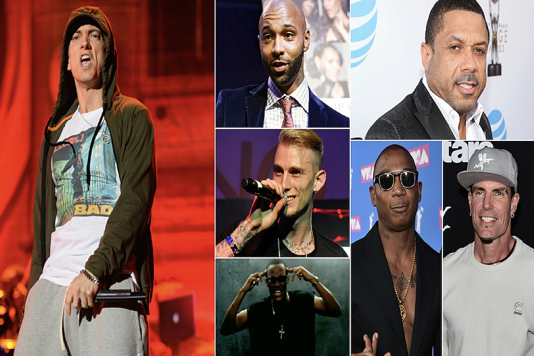 Eminem Vs  Everybody: A List of Slim Shady's Kamikaze